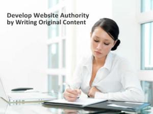 writing original content