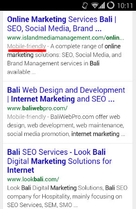 new mobile website design emphasis by google