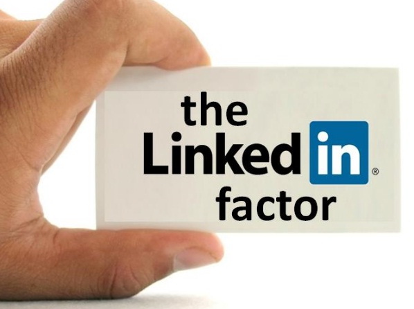 LinkedIn success symbol