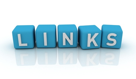 Links symbol