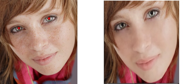 Before & After Photoshop Editing