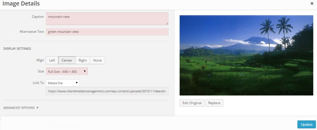 example of image optimization