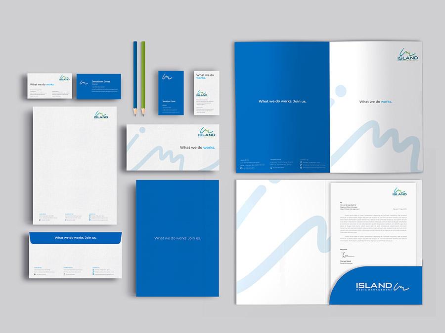Visual Brand Guidelines | Island Media Management