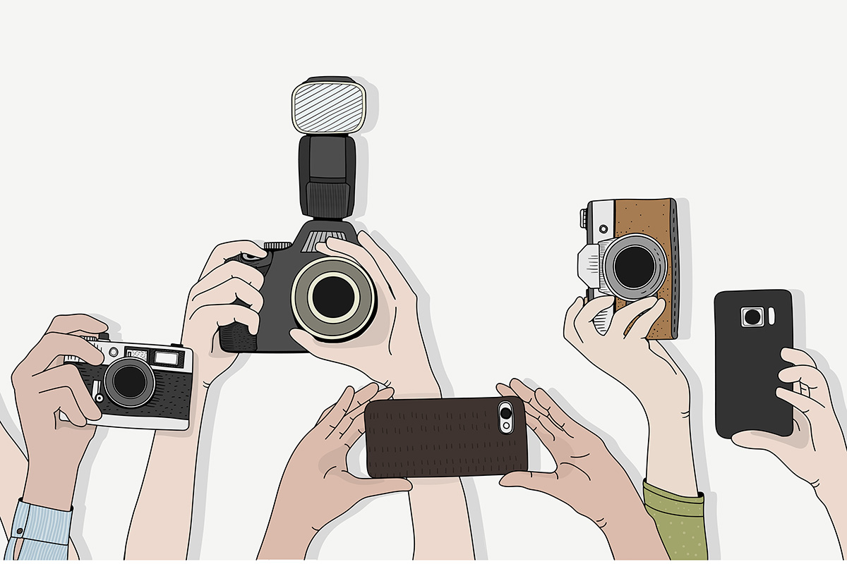 photographer digital content
