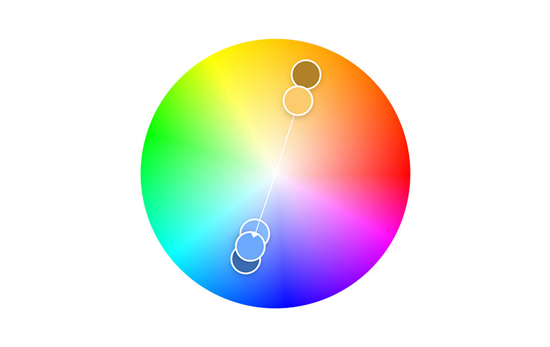 Color Complementation as one of the color theory