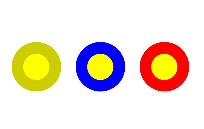 Color Contrast in website design