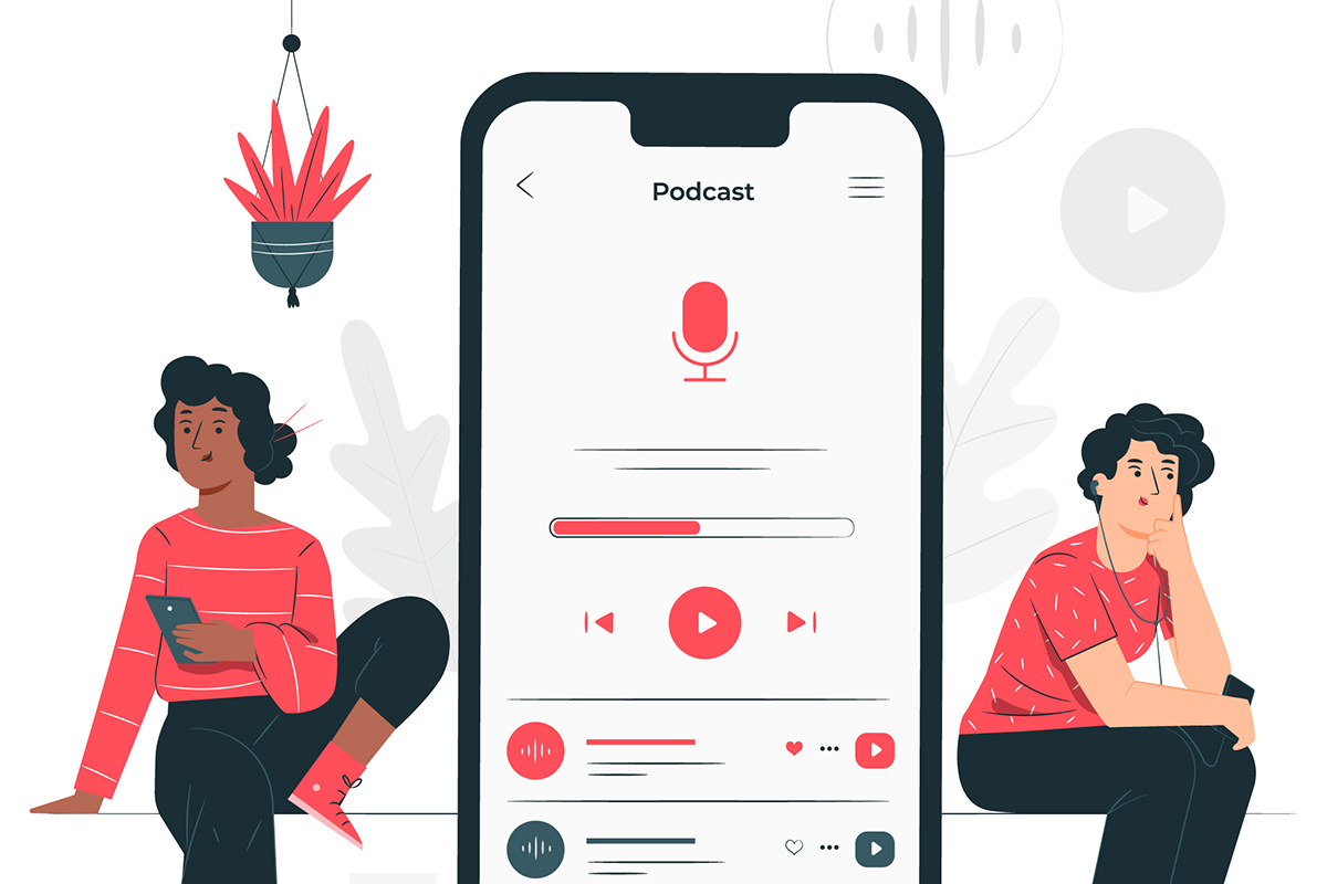 Podcasts on Youtube