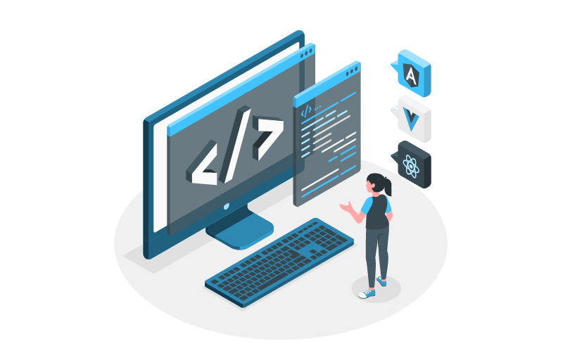 front end website development