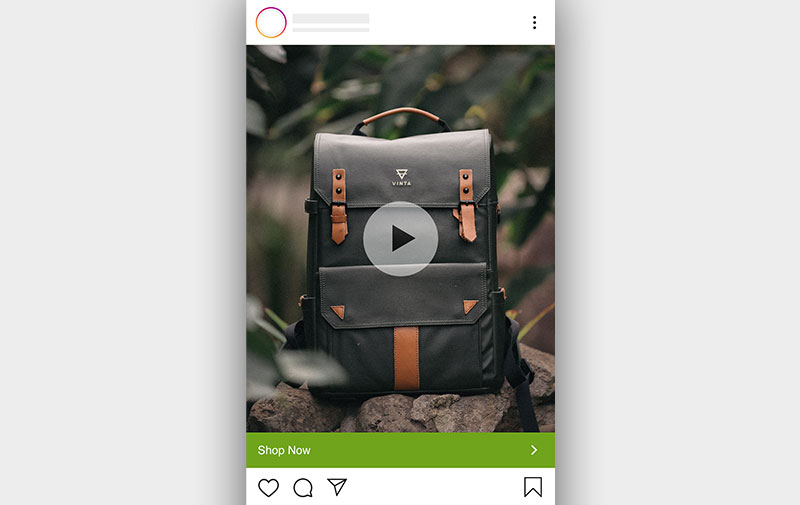 Instagram ads with videos as the ad creatives